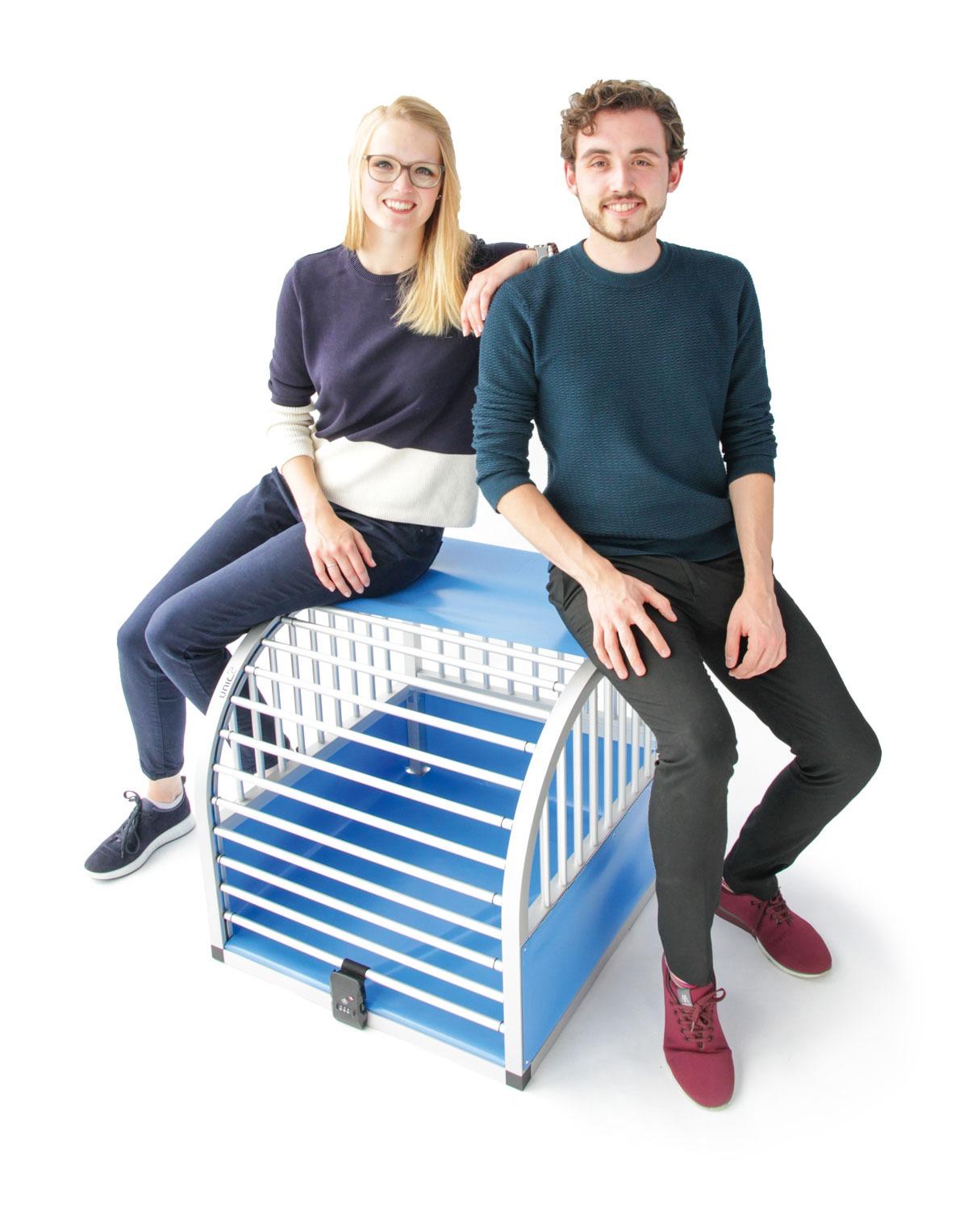 unic Kundenservice, Carina Frohberger und Daniel Otto