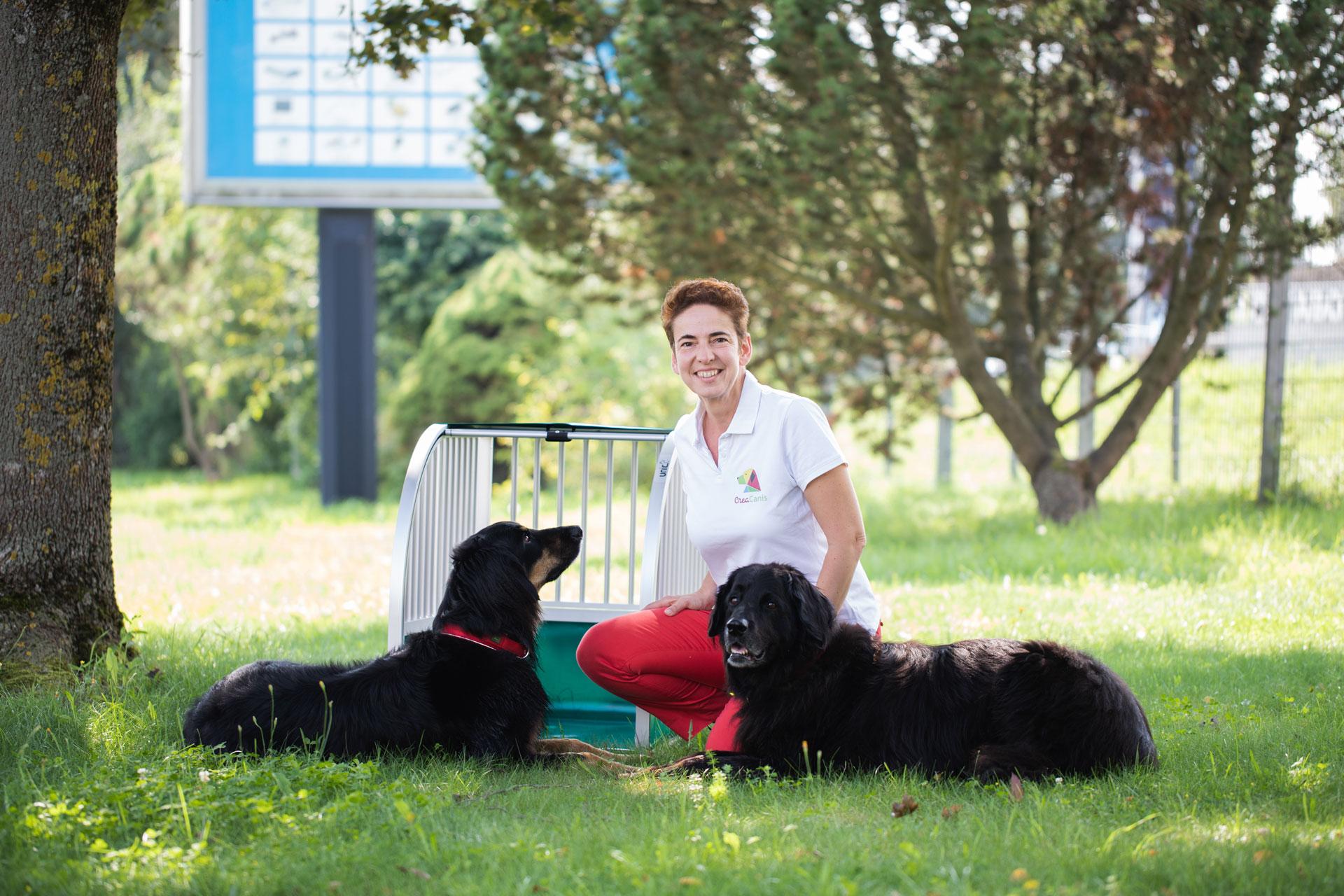 Die unic Hundeexpertin von CreaCanis - Frau Busse-Kilger